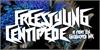 Freestyling Centipede Font poster design