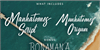 Manhatoones Script Font blackboard handwriting
