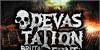 Devastation DEMO Font poster text