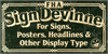 FHA Sign DeVinneNC Font poster text