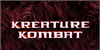 Kreature Kombat Font poster screenshot