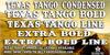 Texas Tango BOLD PERSONAL USE Font text screenshot
