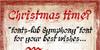 fonts-lab Symphony_demo Font text handwriting