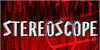 Stereoscope Font poster design