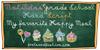 MATILDAS GRADE SCHOOL HAND_DEMO Font blackboard birthday cake