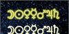 Astronomic Signs St Font fireworks design