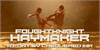 FoughtKnight Haymaker Font poster person