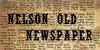 NelsonOldNewsPaper Font text newspaper