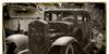 CF Old Photograph Credit Font land vehicle wheel