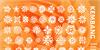 Kembang Font pattern design
