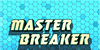 Master Breaker Font screenshot electric blue