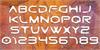 Gtek Caverna Font typography design