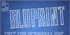 Bluprint Font handwriting text