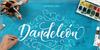 Dandeleon Vintage Demo Font handwriting text
