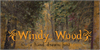 Windy Wood Demo Font outdoor sign