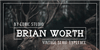 BRIAN WORTH Font stag
