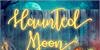 Haunted Moon Font text book