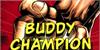 Buddy Champion Font cartoon poster