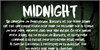Midnight Font screenshot text