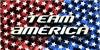 Team America Font flag design