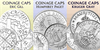 Coinage Caps Kruger Gray Font text sketch