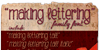 Making Lettering Tall_demo Font text