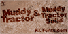 Muddy Tractor Font poster