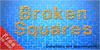 Broken Squares Font screenshot vector graphics