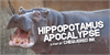 Hippopotamus Apocalypse Font animal mammal