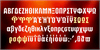 FTY STRATEGYCIDE NCV Font screenshot orange