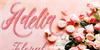 madania script Font birthday cake food