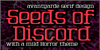 Seeds of Discord Font poster