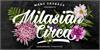 Milasian Circa Thin PERSONAL Font poster design