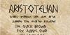 AristotelianNBP Font text handwriting
