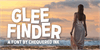Glee Finder Font outdoor person