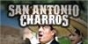 San Antonio Charros Font person poster