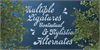 Emiral Script PERSONAL USE Font handwriting tree