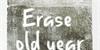 Erase Old Year Font handwriting typography