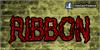 CF Ribbon Font text