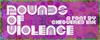Pounds of Violence Font magenta design