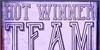 Hot Winner Team DEMO Font drawing cartoon