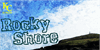 Rocky Shore Font outdoor cloud