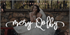 Mery Qolby Font wedding poster