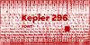 Kepler 296 Font poster