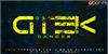 Gtek Technology Font screenshot poster