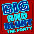 Illustration of font ARB-218 Big Blunt MAR-50