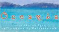 Illustration of font Oceania