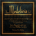 Illustration of font Medelicia