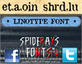 Illustration of font etaoin shrdlu