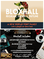 Illustration of font Bloxhall Sample